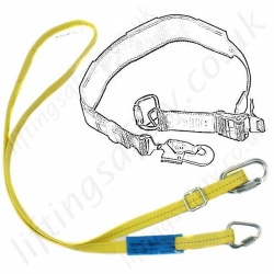 Ridgegear Restraint Lanyards, Fall Prevention & Avoidance