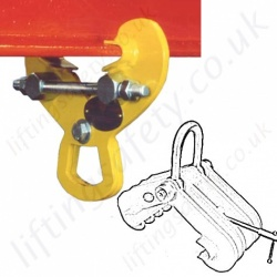 Riley Superclamp Steel Beam Lifting / Suspension Clamps - To Suit UB, RSJ, I Section or H Section