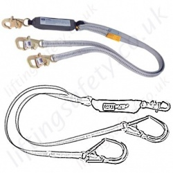 SALA Fall Arrest Lanyards, 100% tie-off - Twin Leg