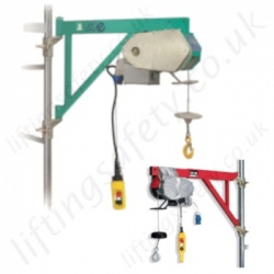 Wire Rope Scaffold Hoists (Builders Hoists) & Accessories