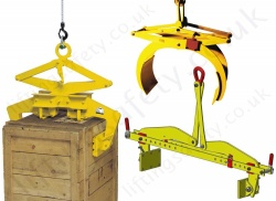 Scissor Grab Lifting Clamps for Steel Sections and Concrete Applications