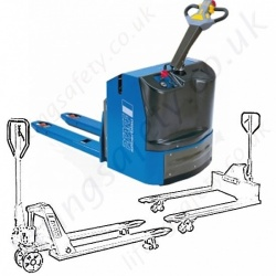 Pallet Trucks, Hand Operated Pump Trucks with Special Features