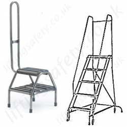 Stainless Steel Steps and Ladders