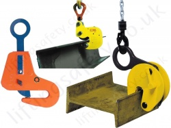 "Steel Beam Girder lifting / Suspension Clamps, UB, RSJ, ""I"" Section, ""H"" Beam."