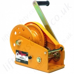 Tiger Hand Winches, Hand Operated Wire Rope Hoists - 360kg to 1180kg
