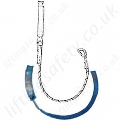 Tractel Fall Arrest Lanyards - Single Leg