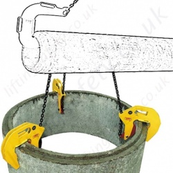 Tractel Groundwork & Construction Lifting Clamps