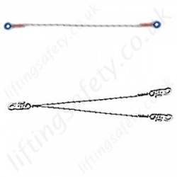 Tractel Restraint Lanyards, Fall Prevention and Avoidance