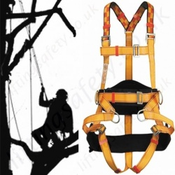 Tree Surgeons Fall Arrest Positioning Harness - Height Safety & Fall