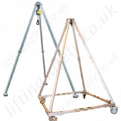 Shearlegs, Tripods & Quadpods