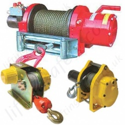 Vehicle Mounted Winches for Recovery and Lifting