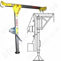 Vertical Type Davit Arms
