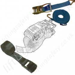Cargo Restraint Ratchet Straps for Load Restraint