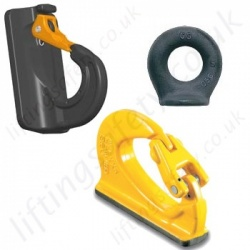 "Weld-on ""Non Swivel"" Lifting & Lashing Hooks & Eye Bolts"
