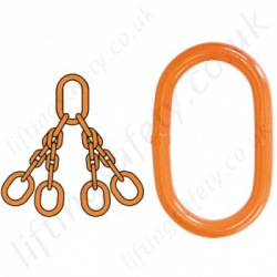 DNV Certified Chain Lifting Slings and components, 2.7-1 and EN1677-4