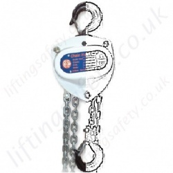 William Hackett Hand Chain Hoists Hook Suspended (manual hoists)