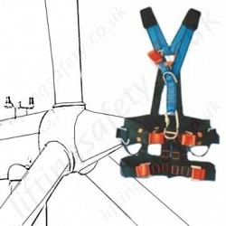 Wind Turbine Fall Arrest Harnesses