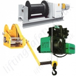 Wire Rope Pulling Winches & Lifting Hoists