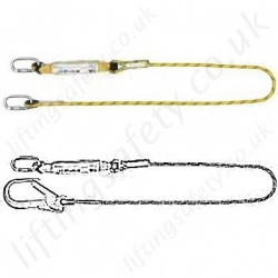Yale Fall Arrest Lanyards - Single Leg