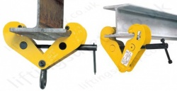 Yale Steel Beam Lifting / Suspension Clamps - To Suit UB, RSJ, I Section or H Section