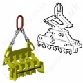 Camlok Rail Handling Lifting Clamps