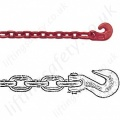 Crosby Load Binder Chains with Grab Hook