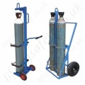 Gas Cylinder Lifting Trolleys (with castors)