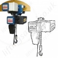 Donati Electric Chain Hoists from 125kg to 4000kg