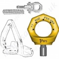 Fall Arrest Restraint & Rescue Eye Bolts EN795