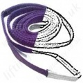 Flat Web Lifting Slings (soft slings), Synthetic (Polyester, Nylon, Dyneema etc...)
