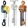 Hand Chain Hoists. Top Hook Suspended : 500kg to 100t