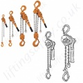Kito Lever Hoists, Ratchet Lever Hoists / Pull-Lifts