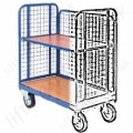 Low Mesh Sided Platform Trolleys and Trucks