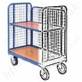 Low Rod Sided Platform Trolley and Trucks