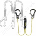 PP (Pammenter & Petrie) Fall Arrest Lanyards, 100% tie-0ff-Twin Leg