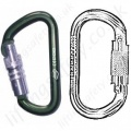 Protecta Aluminium Karabiners and Connectors