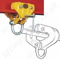 Riley Superclamp Push Travel Beam Trolleys - Monorail (I Beam)
