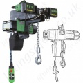 RWM Electric Chain Hoists and Trolley Hoists from 125kg to 5 tonnes