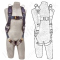 SALA Fall Arrest Rescue Harnesses (Vertical Casualty Lifting)