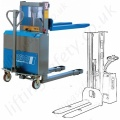 Materials Stacker Trucks - Electric Operation