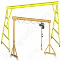 Mobile Lifting Gantries Painted Carbon Steel