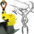 Tractel Steel Beam Lifting / Suspension Clamps - To Suit UB, RSJ, I Section or H Section