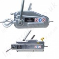 Tractel Wire Rope Cable Pullers and Lifting Hoists, Manual Operation