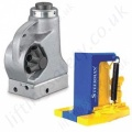 Yale Hydraulic Jacks - Hand Operated Toe Jacks and Bottle Jacks
