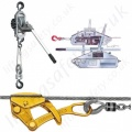Yale Manual Wire Rope Cable Pullers and Hoists