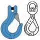 Chain Lifting Hooks for Grade 10 (100) Chain Slings