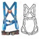 Tractel VertyTrac Standard Buckle Safety Harnesses EN361