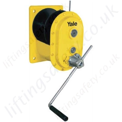 Yale Mws Spur Gear Wire Rope Winch Range From 150kg To