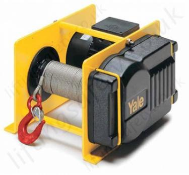 Yale Electric Wire Rope Winches / Hoists for Pulling and Lifting ...
