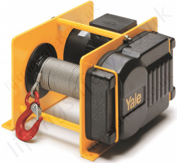 Yale RPE Electric wire rope pulling winch / lifting hoist, 230v or 400v 50Hz - Range from 250kg to 1000kg